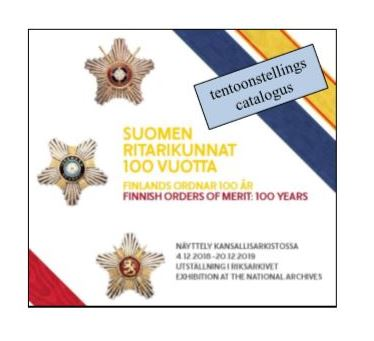 Catalogus Finish orders of merit 100 years
